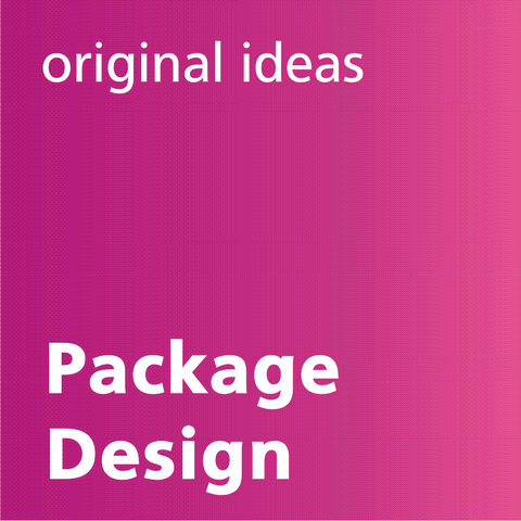 Original ideas in Package design