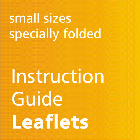 Small Sizes, Specially Folded